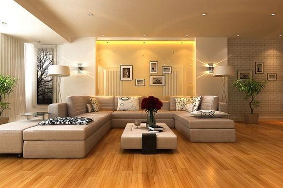 Sala con pisos de madera Awesome Interiors Pinterest Piso de - colores calidos para salas