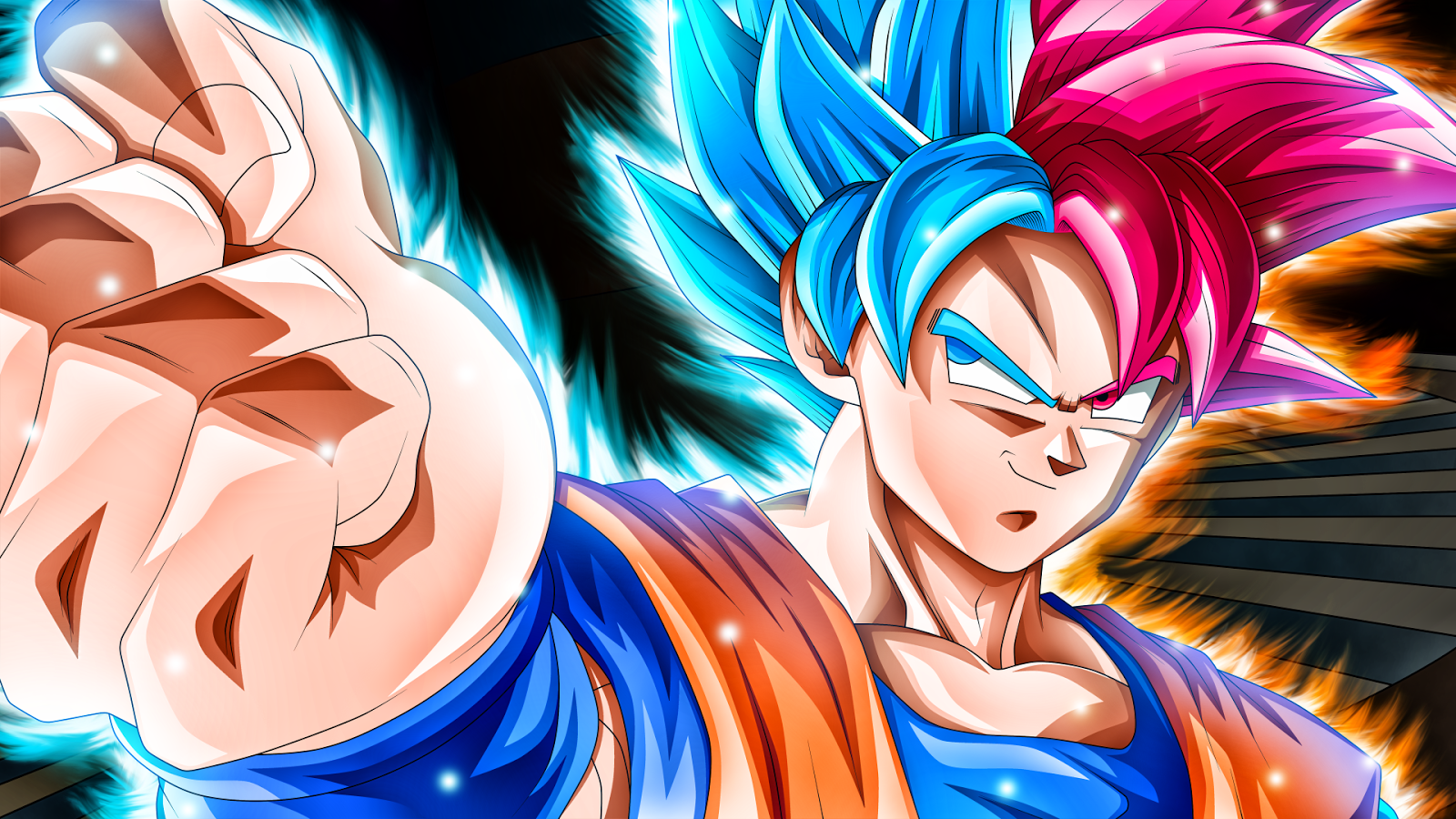 Free Son Goku Super Saiyan Blue Wallpaper Images For Wallpaper