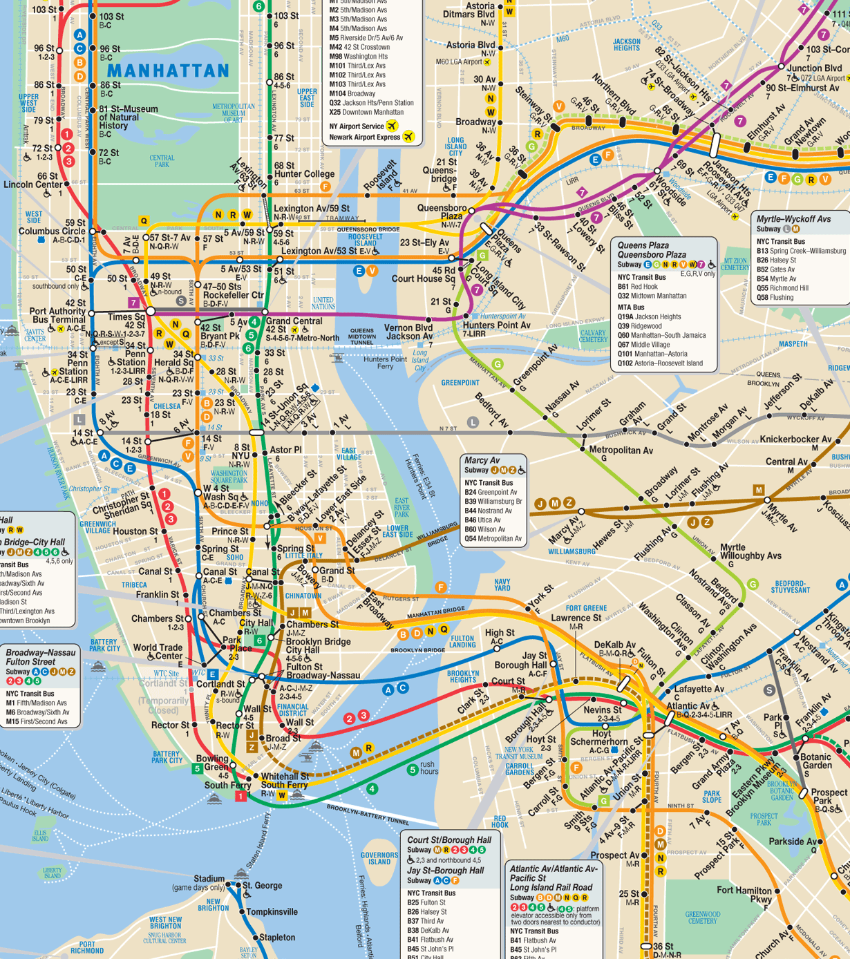 map of new york metro tourist  travelquaz. subwaymappng (×)  new york  pinterest  nyc underground