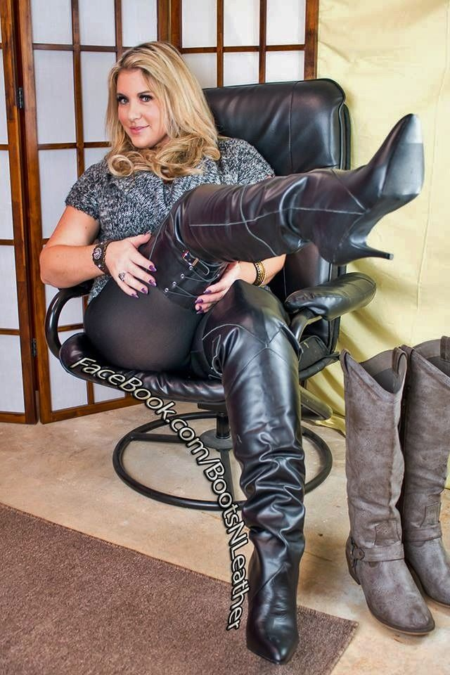 mature in pantyhose and boots