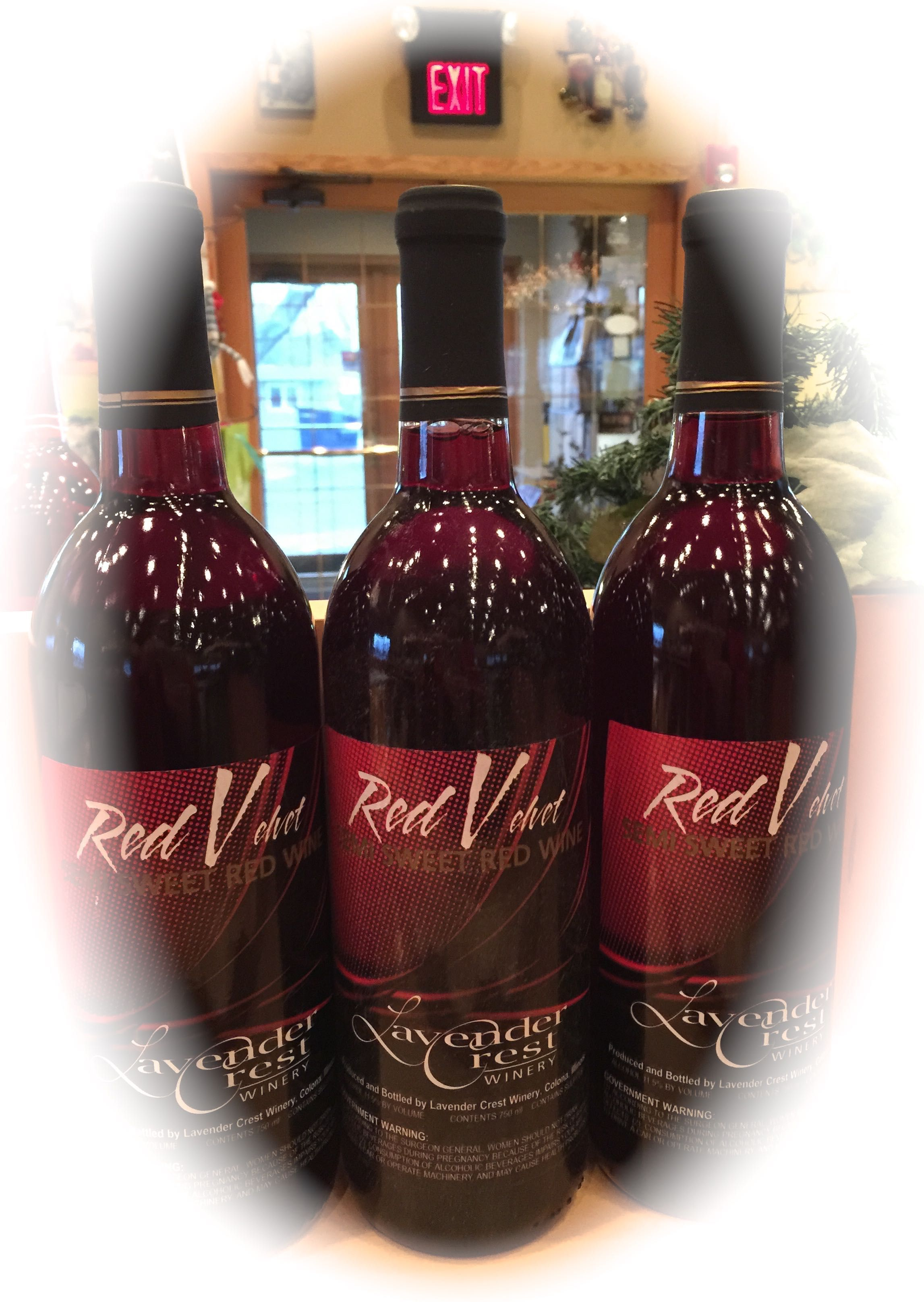 Red Velvet Semi Sweet Red Wine Made From Marechal Foch Grapes Light Fragrant Fresh And Fruity Semi Sweet Red Wine Sweet Red Wines Wine