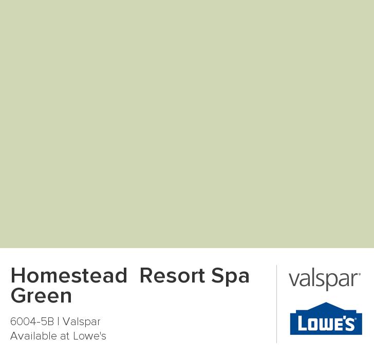 Homestead Resort Spa Aqua Paint