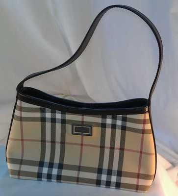 007b3c15030 Authentic Vintage Burberry Nova Check Handbag - Evening bag / purse