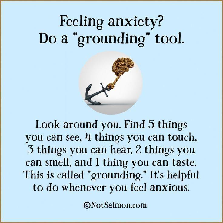"Ti senti ansioso? Fai uno strumento di ""messa a terra"" #MedicalSuppliesChildLife"