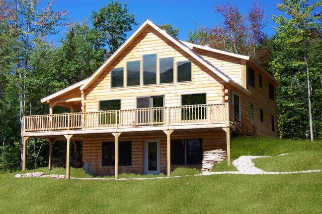 Oak Ridge Home Plan by Coventry Log Homes, Inc  | Coventry