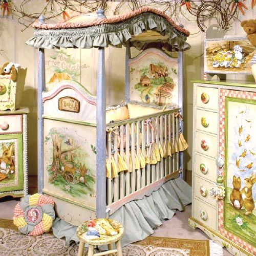 Peter Rabbit Nursery Bedroom Decorating Wall Murals Bunny Decorations Cottage Garden And Farm Theme Ideas Beatrix Potter