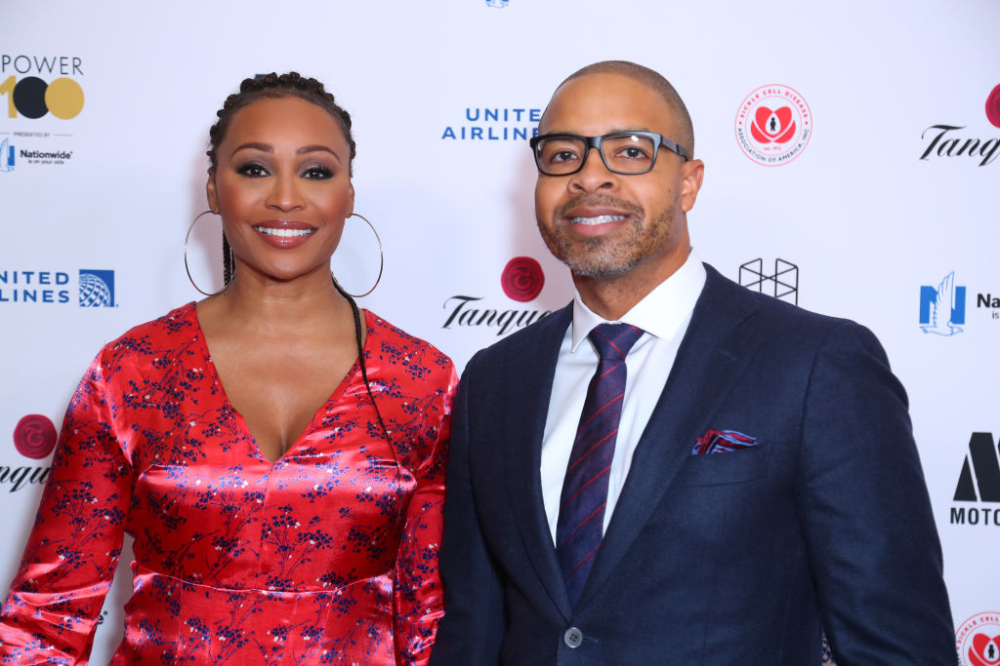 RHOA Cynthia Bailey & Mike Hill Pose For Sophisticated