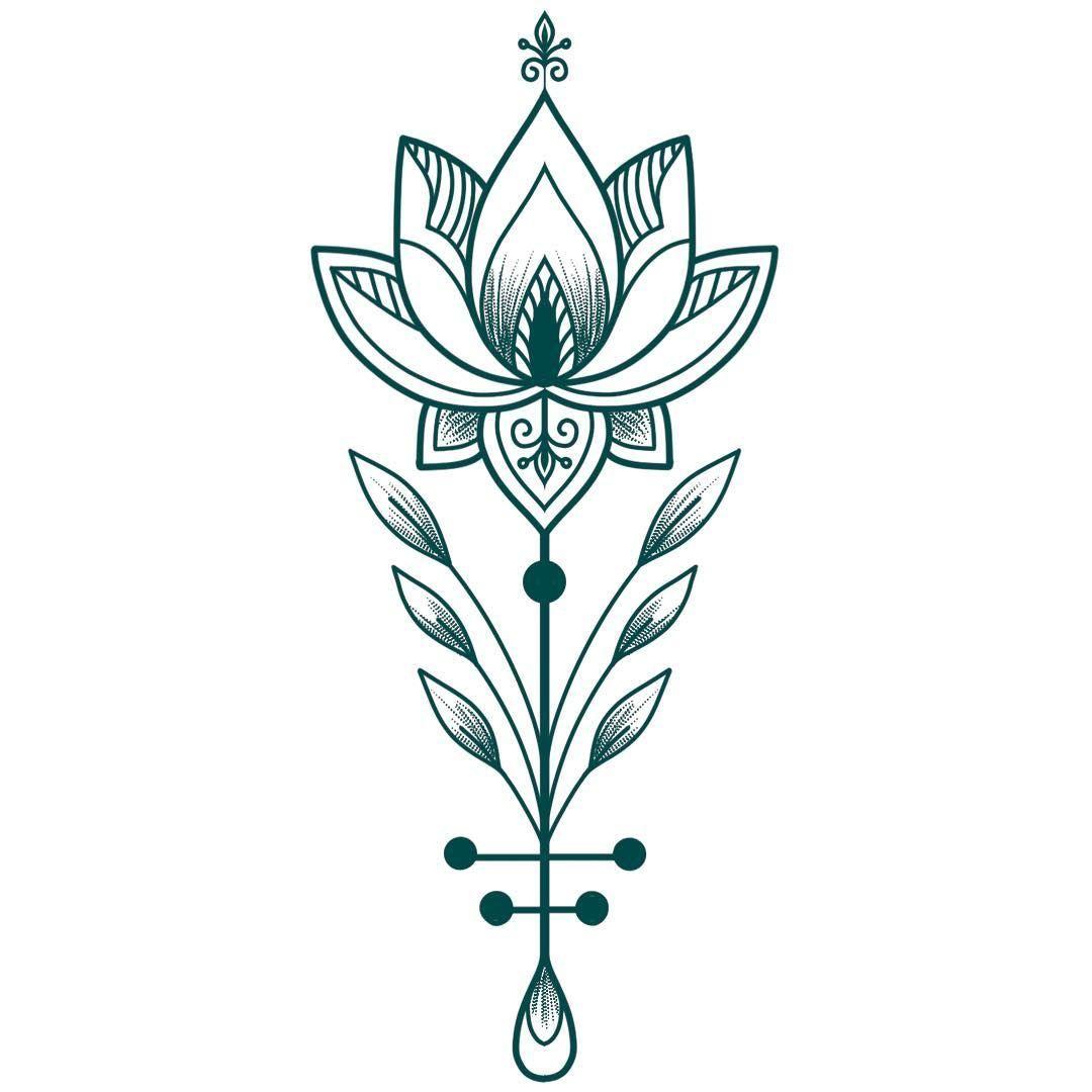 A Quick #procreate #tattoo #idea 😁💚