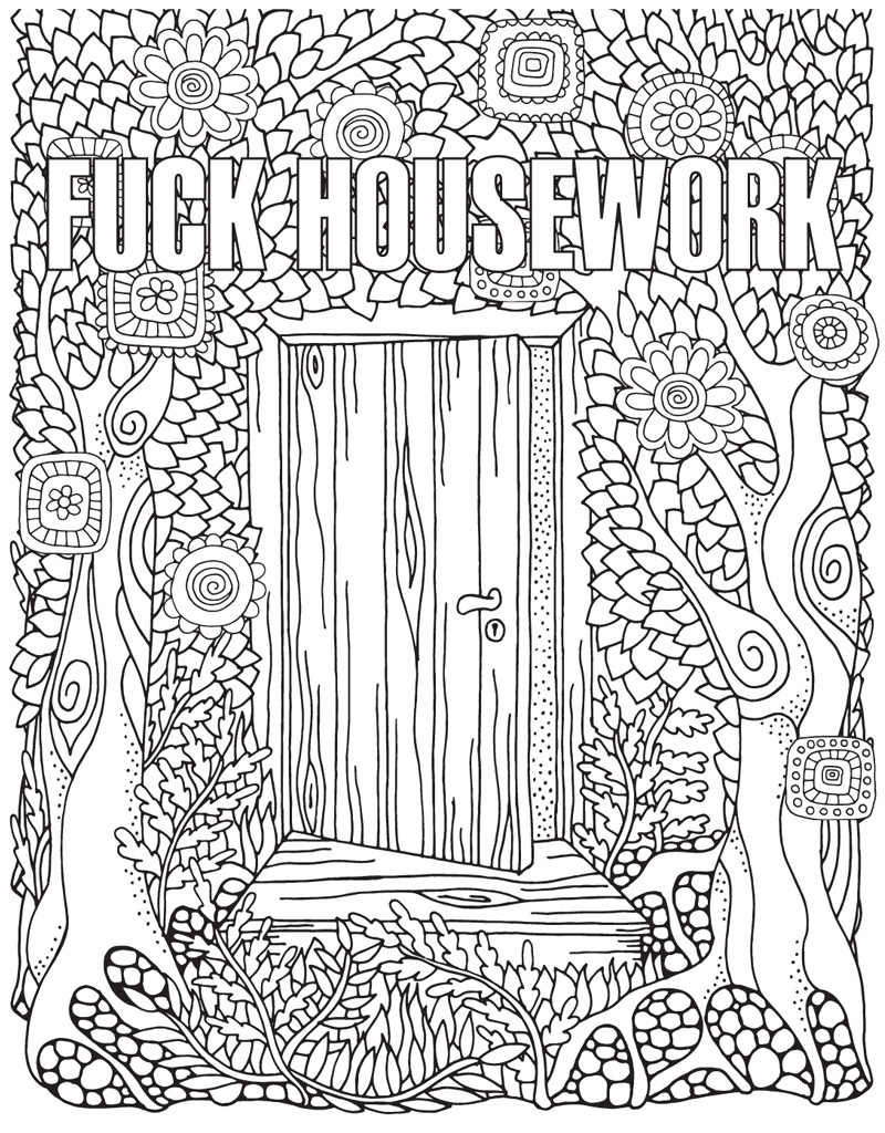 The Swear Word Coloring Book Hannah Caner Macmillan Swear Word Coloring Book Swear Word Coloring Words Coloring Book