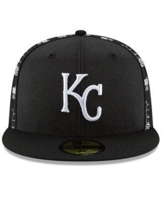 sale retailer f42f1 13ac1 New Era Kansas City Royals Inside Out 59FIFTY-fitted Cap - Black 7 5 8