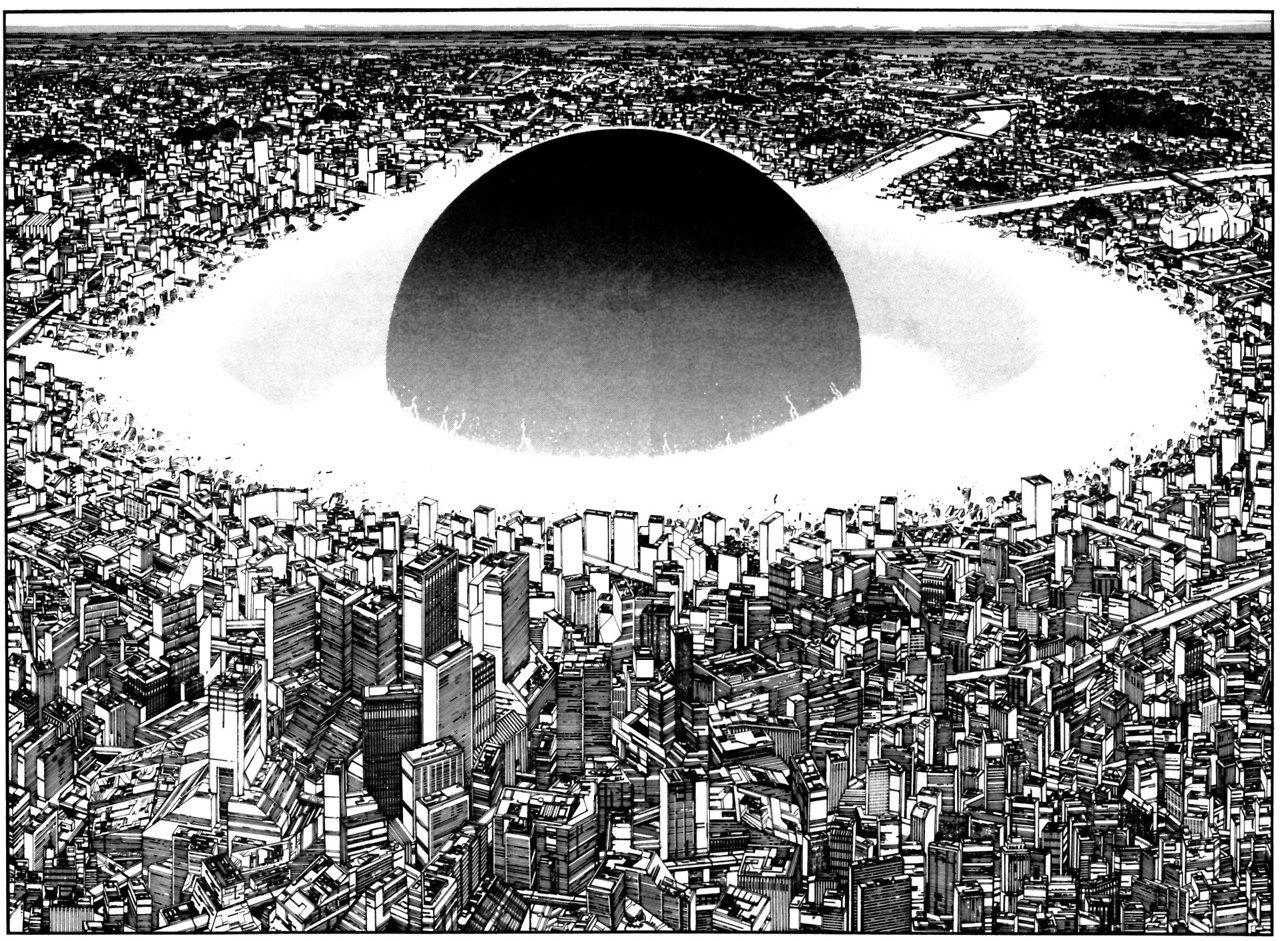 Iheartmyart Neo Tokyo Katsuhiro Otomo Akira