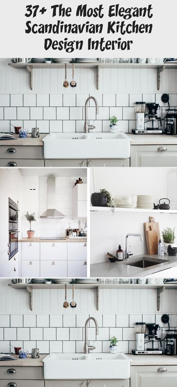 5+ The Most Elegant Scandinavian Kitchen Design Interior
