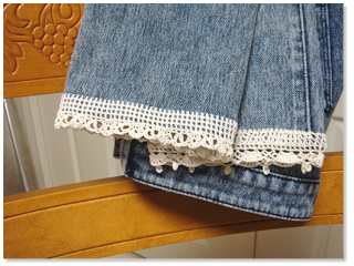 Sidney Artesanato: Customizando a calça jeans