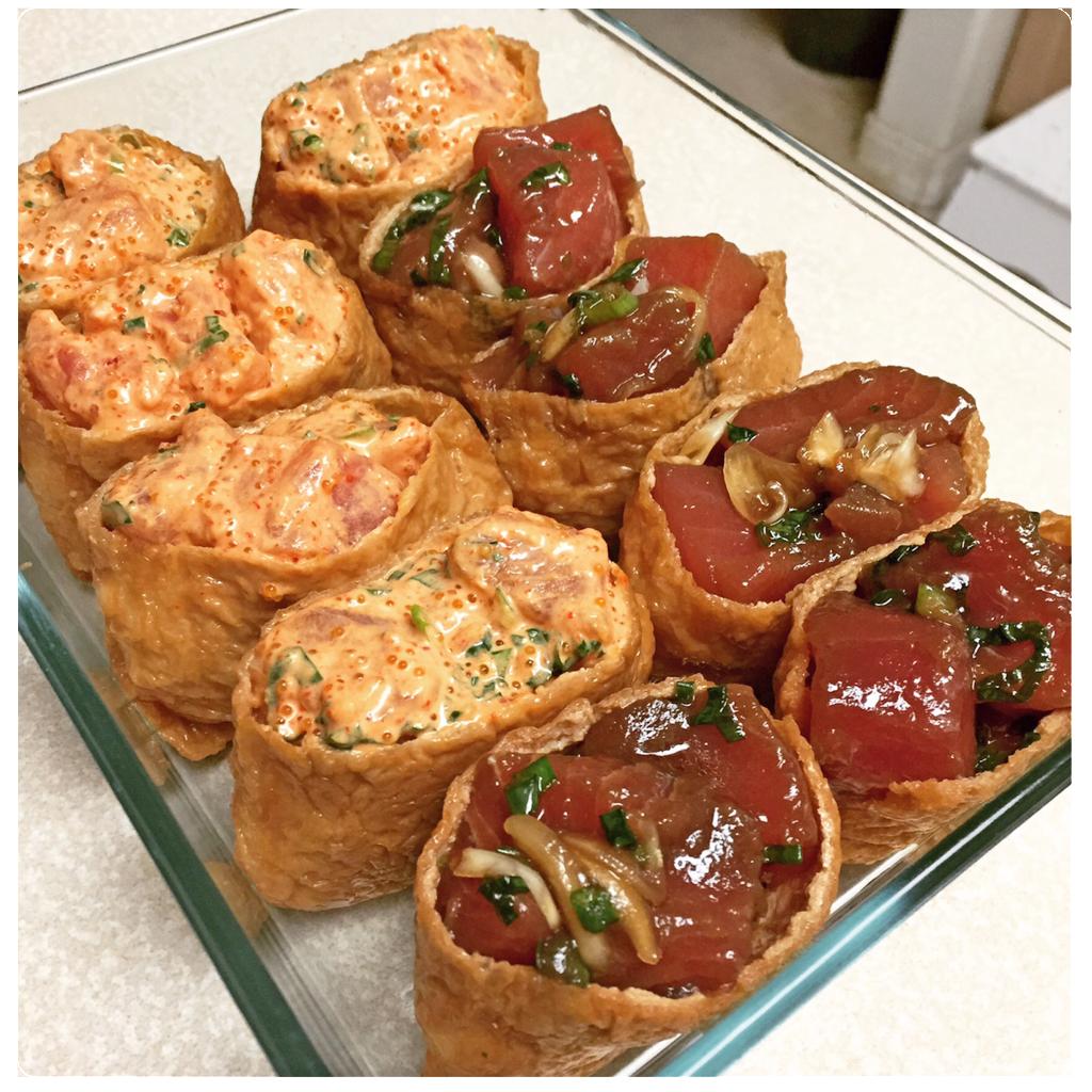 Inari Poke Pocket Sushi Tjs Warehouse Mauis Choice For Fine