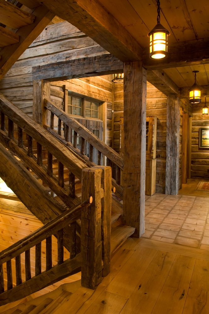 to Big Wood Timber Frames Inc. Reclaimed Wood