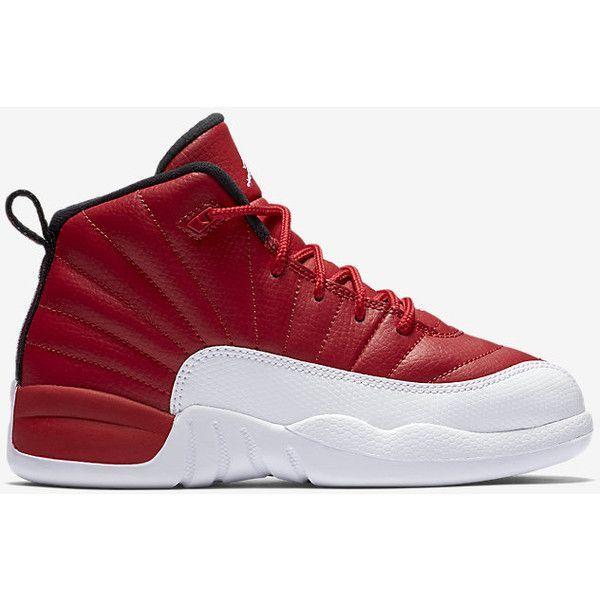 new styles 912b7 e3f03 Air Jordan 12 Retro (10.5c-3y) Little Kids  Shoe. Nike.com ( 80) ❤ liked on  Polyvore featuring jordan 12