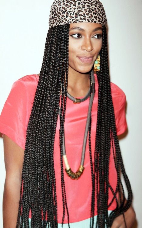 Solo + Poetic justice braids | Boxbraids & Ankhs ...