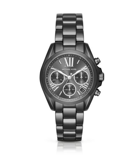 0022e61134df Exclusively Ours in the U.S. in Michael Kors stores and on michaelkors.com.  We designed this slimmed-down version of the Bradshaw watch in a sleek ...