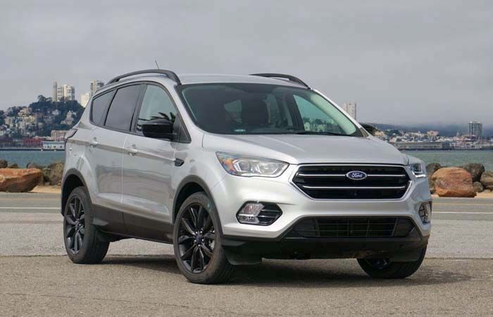 Upcoming 2018 Ford Escape Compact Suv Type Redesign