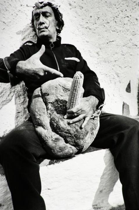 Salvador Dali with prop :)