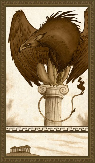 Among the Pillars by MO-ffie.deviantart.com on @deviantART