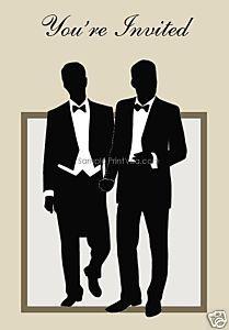 gay wedding invitation marriage is so gay - Same Sex Wedding Invitations