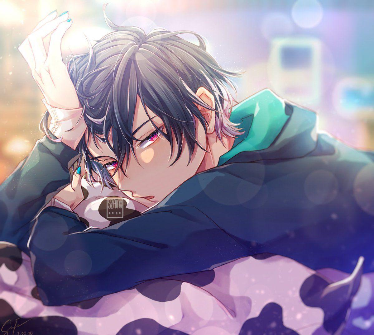 Zan Break Cuz Of School W On Twitter In 2020 Obey Anime Guys Cute Anime Guys