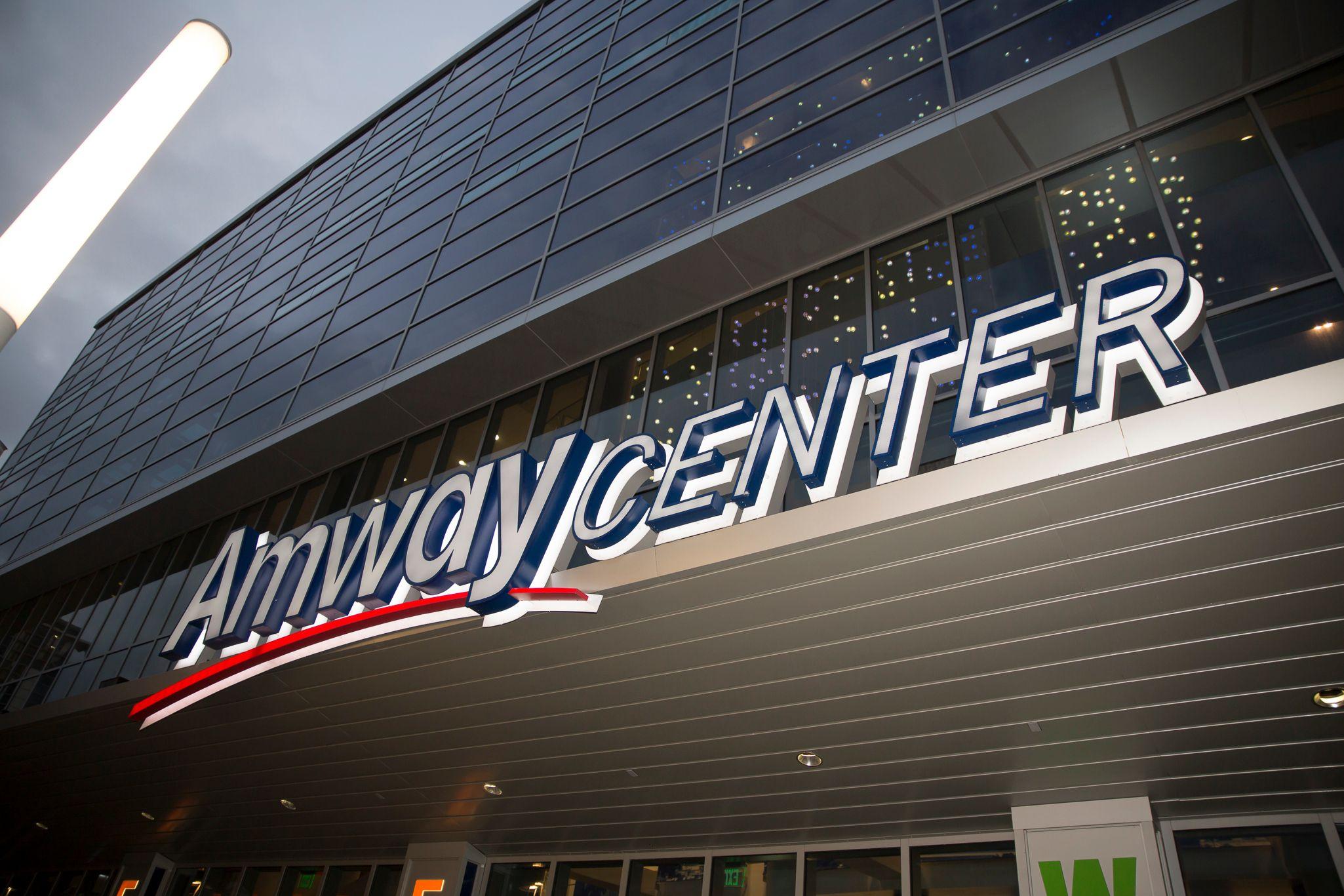 Amway Center, host of the 2013 Budweiser Gala