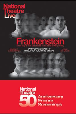 The Contemplations Of A Daughter September 2013 National Theatre Live Frankenstein Theatre