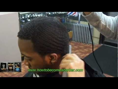 How To Cut Hair With The Grainhow To Cut 360 Wavescutting 360