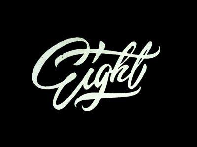 Eight #typography #design #inspiration