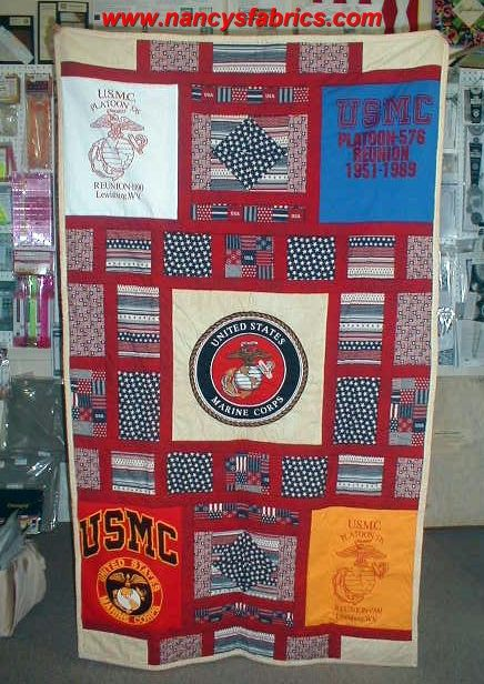 Here is a great quilt made by a customer using her father's old ... : great quilts - Adamdwight.com