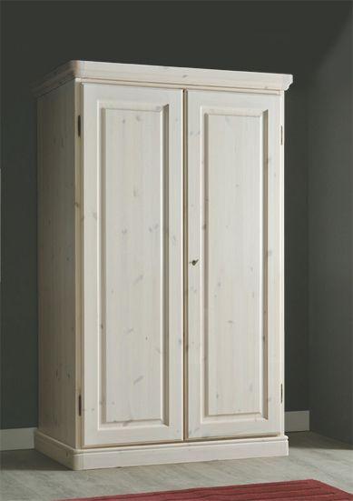 Armadio legno massello di pino di Svezia, rustico. www ...