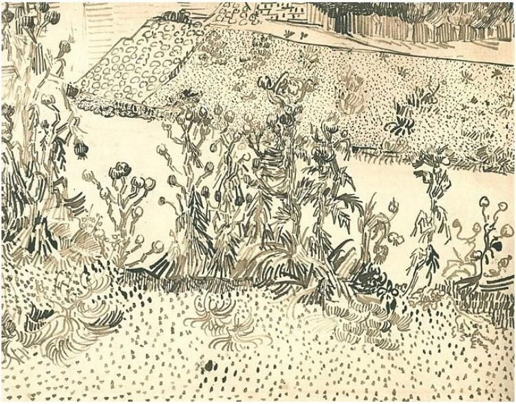 Thistles-Along-the-Roadside (van Gogh)