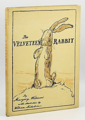 The Velveteen Rabbit by Margery Williams True 1st Edition 1922 Heinemann UK   (what I wouldn't do to have this, but its soooo expensive!)
