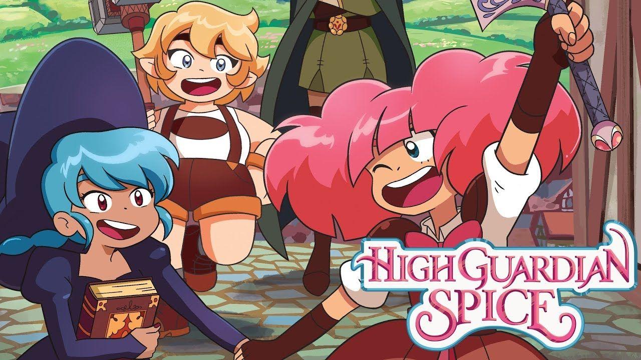 High Guardian Spice Coming 2019 Popular anime, Anime