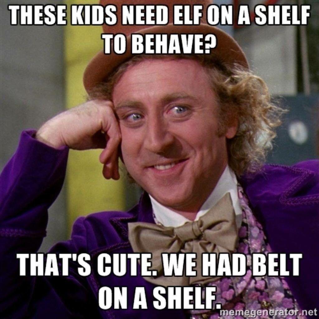 Belt on the shelf