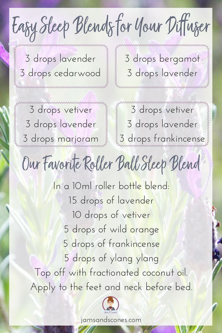 Easy essential oil blends to help with sleep. Diffuser blends and our favorite roller ball recipe DIY blends to help the pyrrole child with insomnia and getting to sleep.