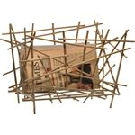 Blow up - Bamboo collection - Home accessories Alessi