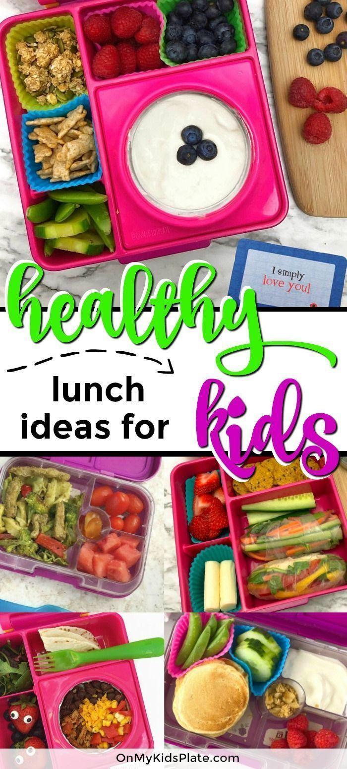 der Suche nach Ideen für ein gesundes Mittagessen für den Schulanfang? Schauen Sie sich diese einfach und kostenlos ...  - Lunch Ideas For Kids -