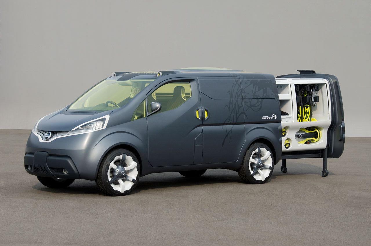 nissan nv200 concept freedom and travel nissan vans nissan rh pinterest com