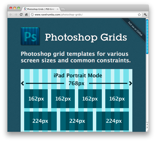 Screenshot Of Photoshop Grid Templates Photoshop Grid Web Design