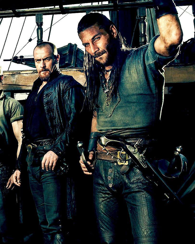 Black sails s3 pirate captain flint leather coat - Toby Stephens Zach Mcgowan Black Sails Season 3