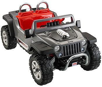 Both Kids Christmas 2016 Power Wheels Jeep Hurricane Extreme
