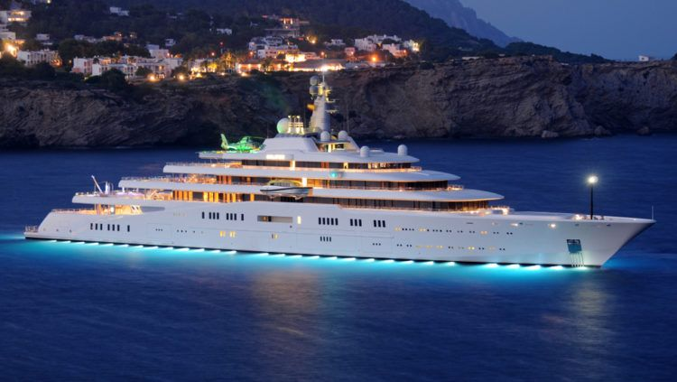 The 10 Largest Yachts In The World With Images Yacht World
