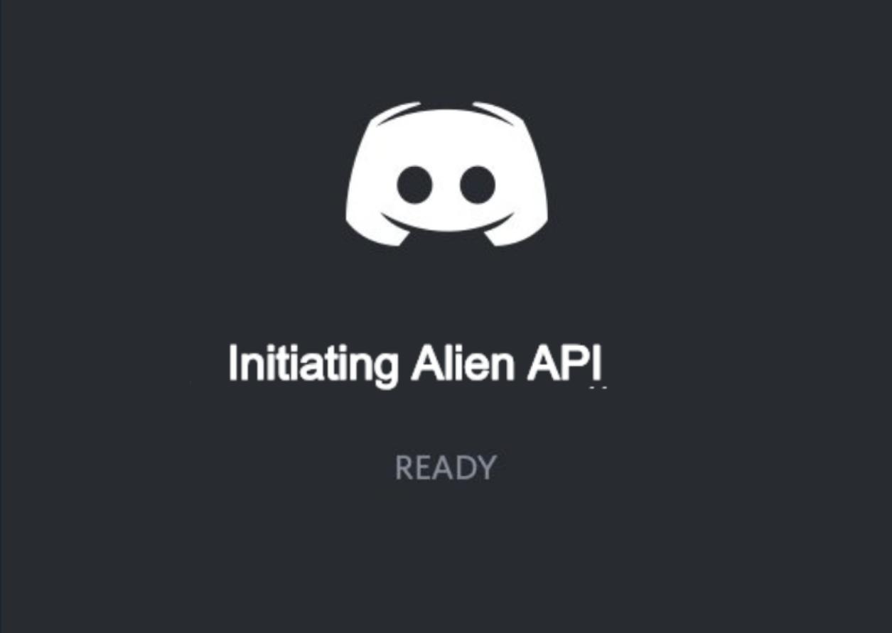 Initiating Alien API on Discord | AlienAPI | Chat app, Discord, The