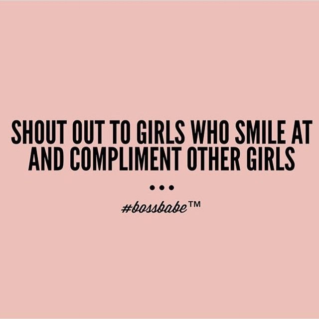 Absolutely YES! Strong empowered women empower other women.