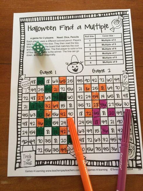 Beste Halloween Mathe Arbeitsblatt Klasse 2 Bilder - Gemischte ...