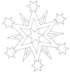 Вытынанки звезды   Вытынанка