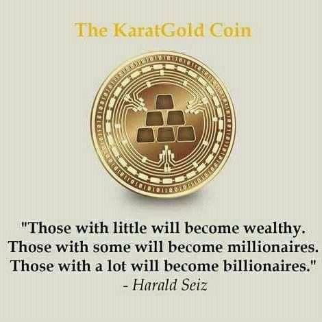 Karat gold coin cryptocurrency